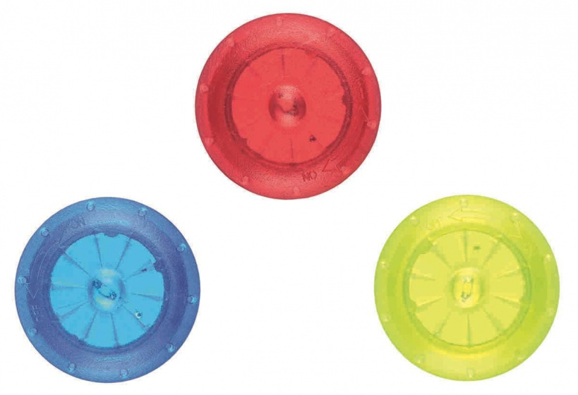 Korting Moses Spaaklampjes 2,4 Cm Blauw rood groen 3 Stuks