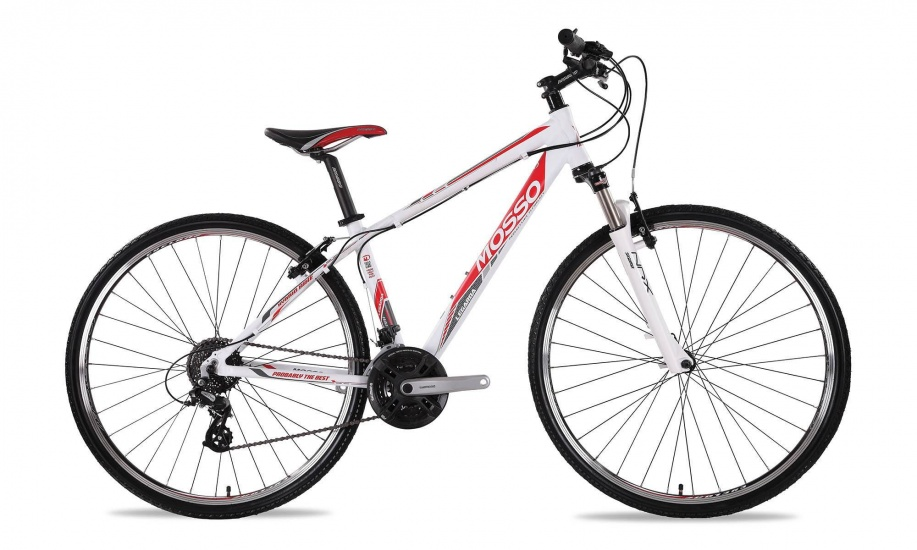Mosso - Legarda 1424 28 Inch 41 Cm Heren 24v V-brake Wit