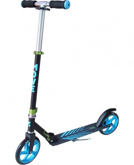 Move - Scooter 200 Bx Junior Voetrem Zwart/blauw