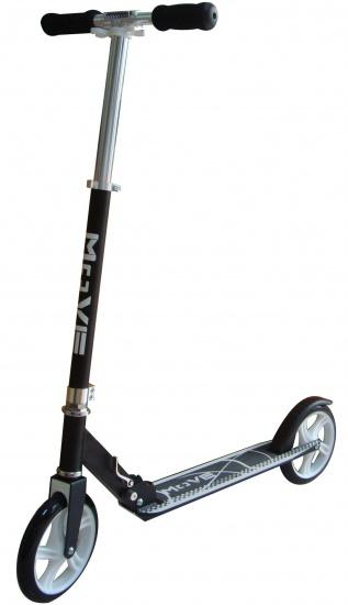 Move Step Basic Scooter 200 Voetrem Zwart/Wit
