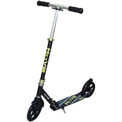 Move Step Delux Scooter 200 Voetrem Zwart/Groen