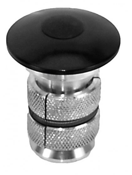 Neco Balhoofd Plug Herbruikbaar Zwart
