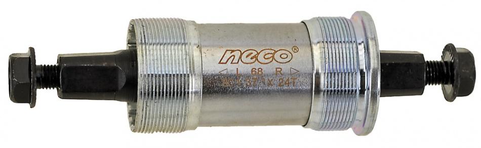 Neco Trapas Set Voor Shimano Stalen Cups 131/34mm BSA JIS