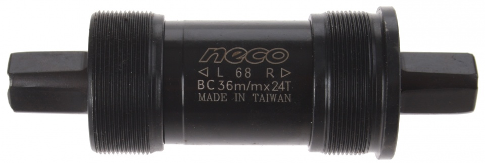 Neco trapas Italiaans 119 x 36 mm zwart