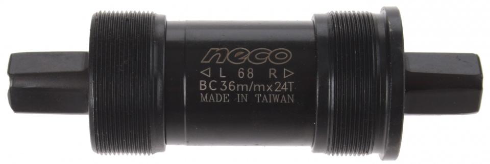 Neco trapas Italiaans 123 x 36 mm zwart