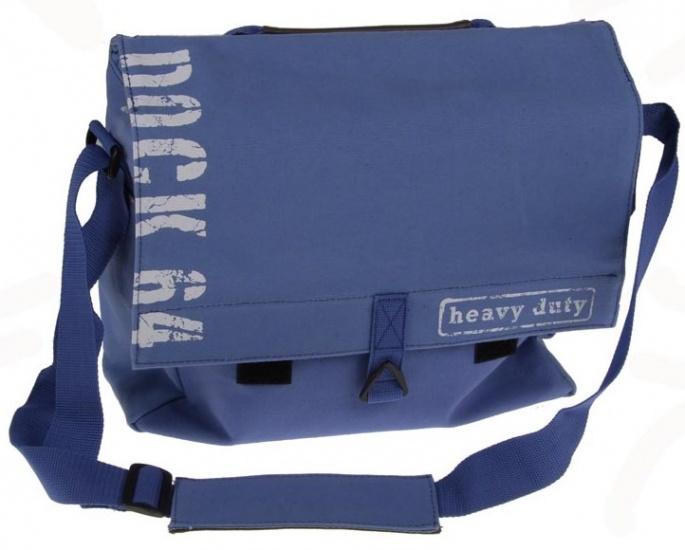 New Looxs Schoudertas Dock Messenger 11.5 liter blauw