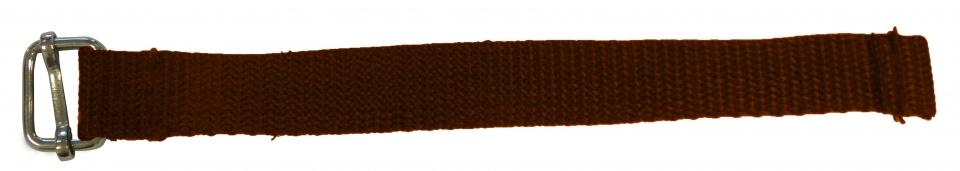 New Looxs bevestiging riempje met enkele gesp 16 cm bruin