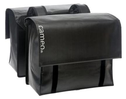 New Looxs Dubbele Fietstas Cameo Bisonyl 46 Liter Zwart