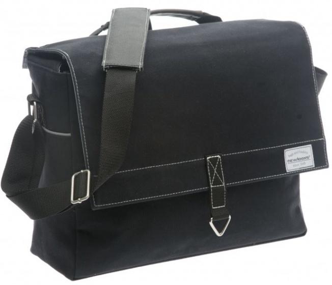 New Looxs schoudertas Dock Messenger zwart 37 x 29 x 14 cm
