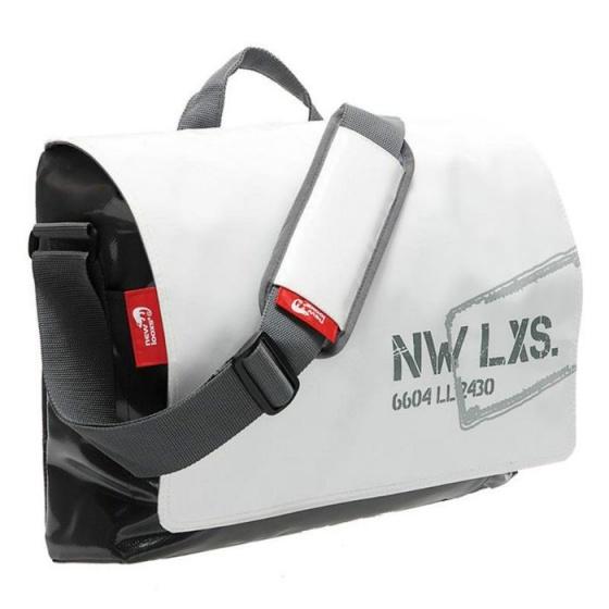 New Looxs schoudertas Postino 16 liter wit