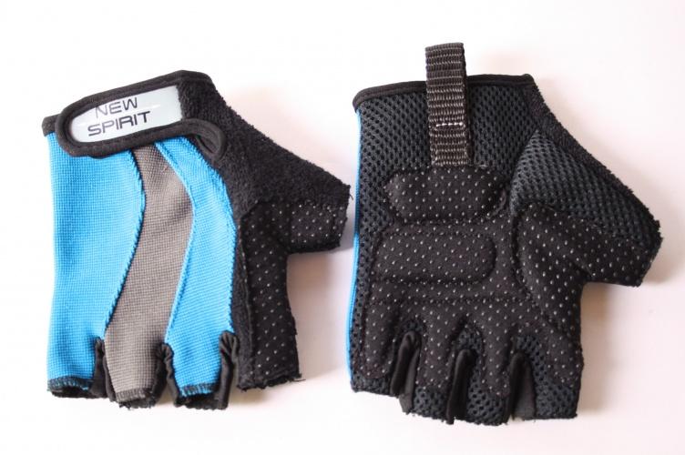 New Spirit Handschoenen Hobart Blauw Zwart Maat S