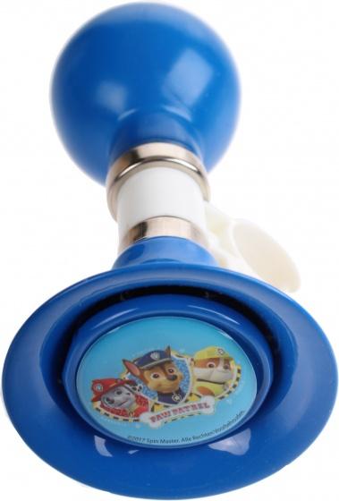 Nickelodeon fietstoeter Paw Patrol 13 cm blauw