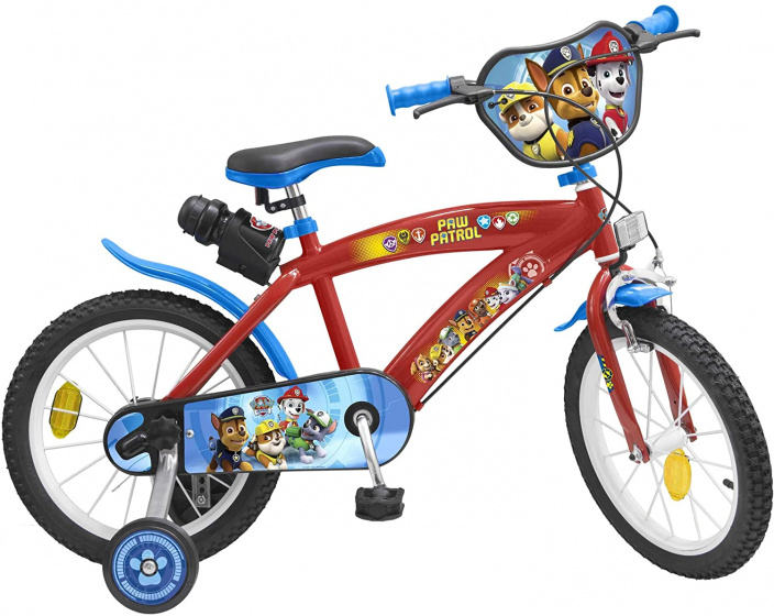 Nickelodeon Paw Patrol 16 Inch 25,4 cm Jongens Knijprem Blauw/Rood