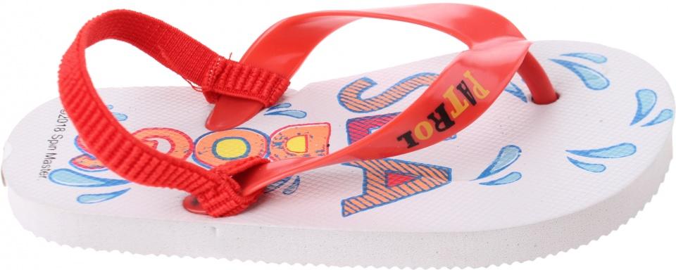 flip flops Paw Patrol junior white / red