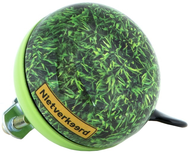 Niet Verkeerd Eco Fietsbel Ding Dong 60mm Gras