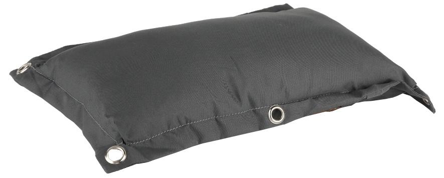 Niet Verkeerd bagagedragerkussen Fat grijs 35 cm