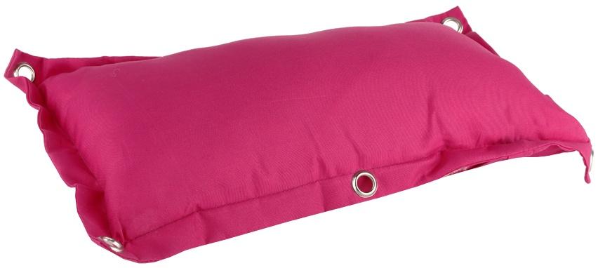Niet Verkeerd bagagedragerkussen Fat roze 35 cm