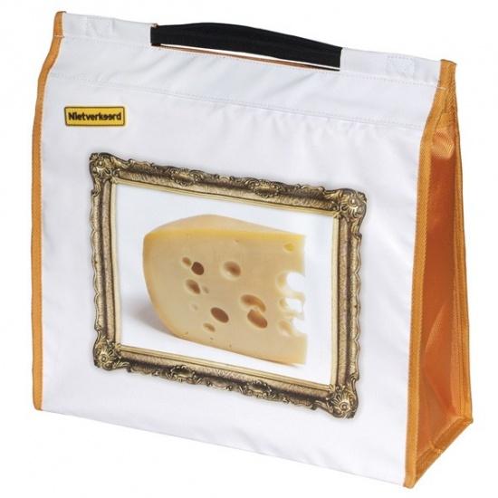 Nietverkeerd Shopper enkel 20 liter bisonyl Kaas wit/oranje