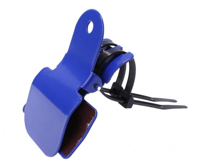 Nietverkeerd Tennis/hockey klem blauw 11 x 8,5 x 4 cm