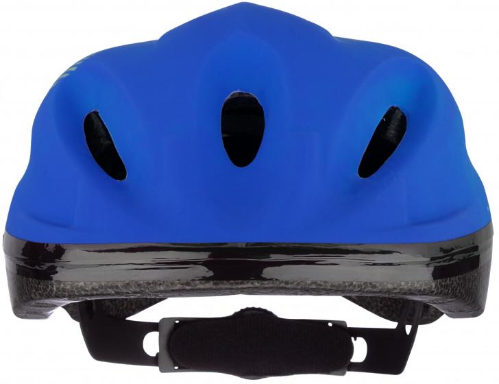Nijdam helm Sky Base junior 52 56 cm EPS/Pet zwart/blauw