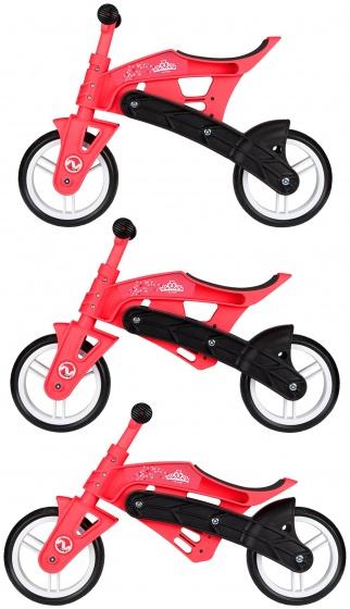 Nijdam Loopfiets verstelbaar N Rider 10 Inch Junior Roze