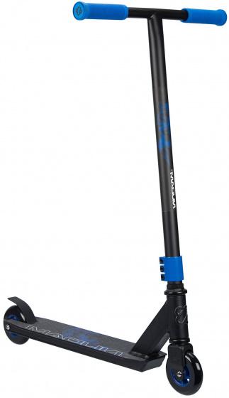 Nijdam stuntstep Blue Smoke Unisex Voetrem Zwart/Blauw
