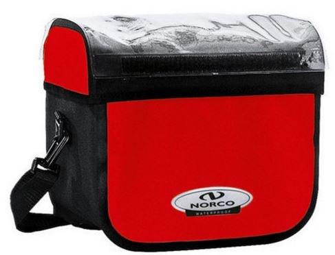 Norco Stuurtas Yukon 7 Liter Rood / Zwart