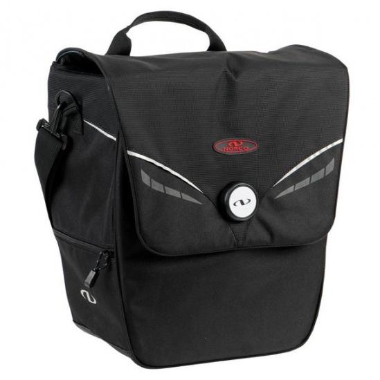 Norco schouder /fietstas Ohio Shopper 18 liter zwart