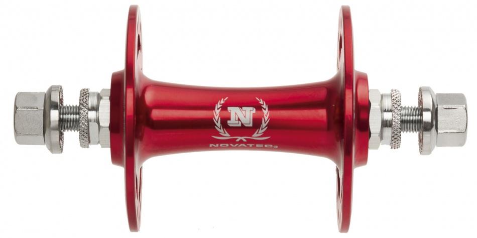 Novatec Baan / Single Speed/ Fixie Naaf Voor 32 Gaats Rood