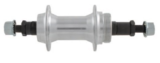 M Wave Naaf Achter Aluminium 36 Gaats Zilver