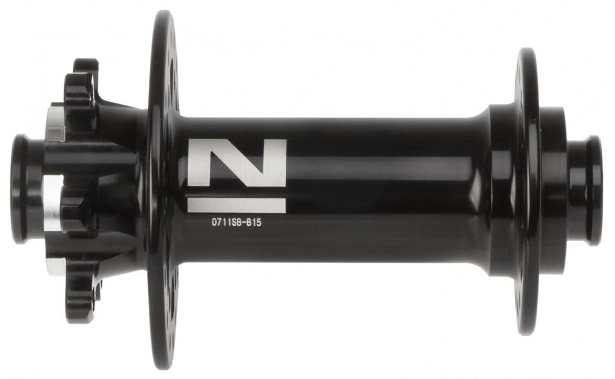 Novatec voornaaf D711SB B15 schijfrem 32 gaats aluminium zwart