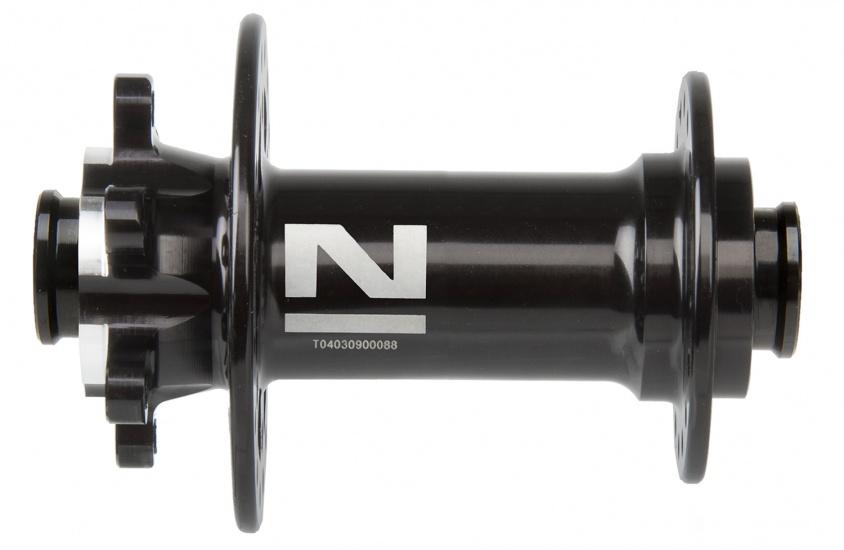 Novatec Voornaaf D771SB/A 32 gaats zwart