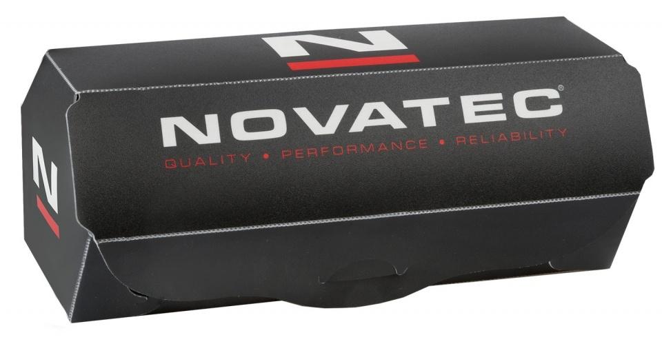 Novatec voornaaf D791SB B15 schijfrem 32 gaats aluminium zwart