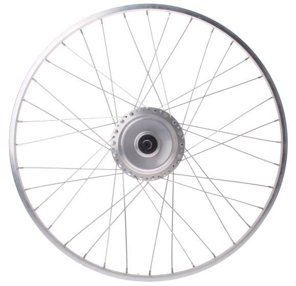 Nuvinci N171 achterwiel 26 inch 36G staal zilver
