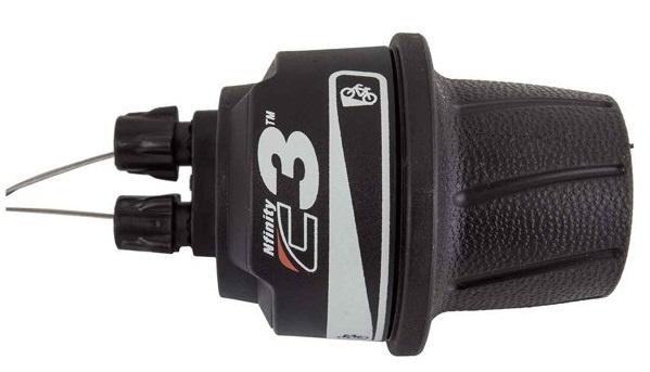 Nuvinci draaiversteller Nfinity C3 rechts 2200 mm zwart