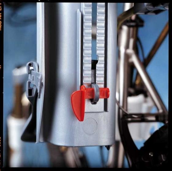 OK Baby fietszitje 10+ achter framebevestiging grijs/blauw