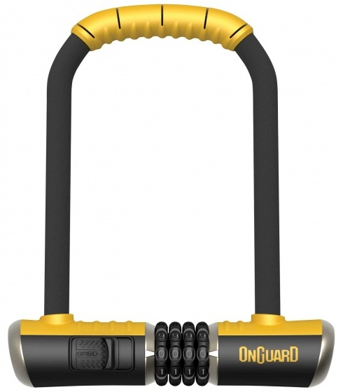 Onguard U slot Bulldog Combo STD 115 x 230 mm zwart/geel