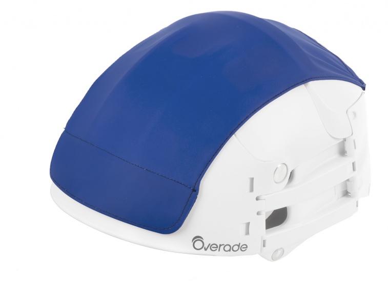 Overade Helm Cover Blauw Maat L/XL