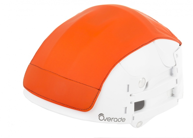 Overade Helm Cover Oranje Maat S/M