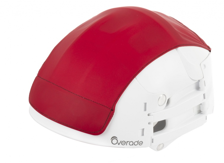 Overade Helm Cover Rood Maat S/M