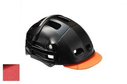 Overade Helm Stick On Visor Rood