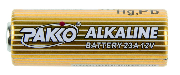 Pako alkaline batterij 23A 12 Volt per stuk