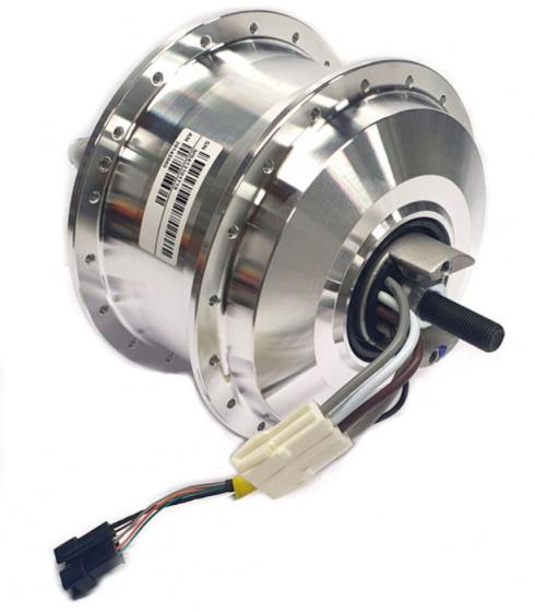 Panasonic motor CMU 9 36SPR voorwiel 36V/250W 36G zilver