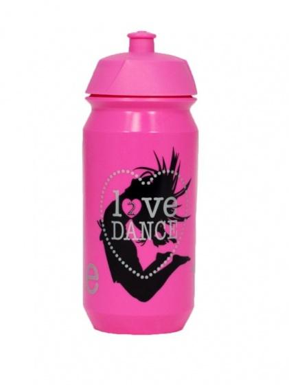 Papillon sportbidon love dance roze 0.5 L
