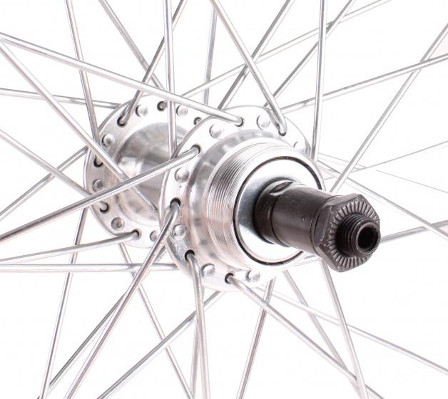 Paralex achterwiel 26 inch (559 19) pion uitval alu zilver