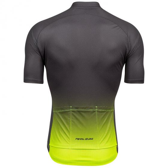Pearl Izumi fietsshirt Attack heren polyester geel/grijs maat S