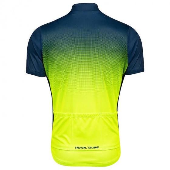Pearl Izumi fietsshirt Select LTD heren polyester geel/blauw maat L