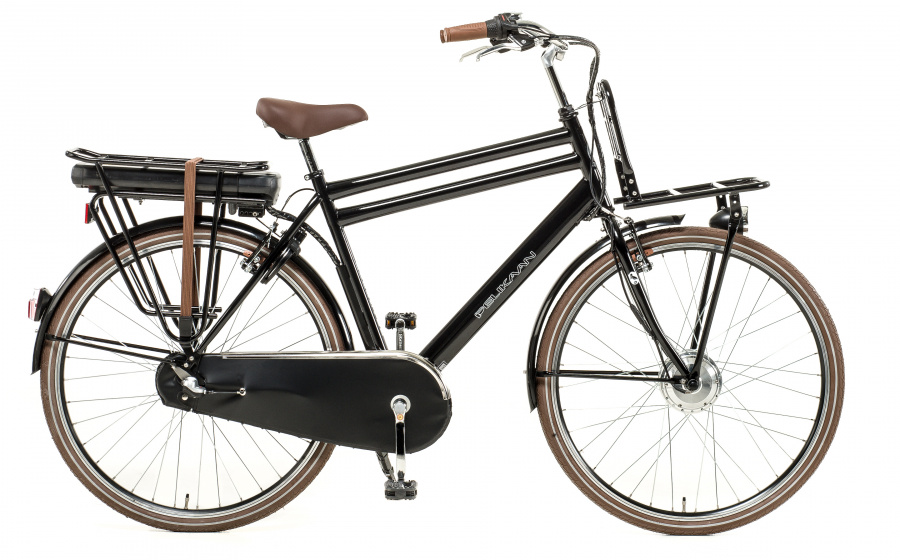 Pelikaan Carry On Gent 28 Inch 56 cm Heren 3V V Brakes Zwart