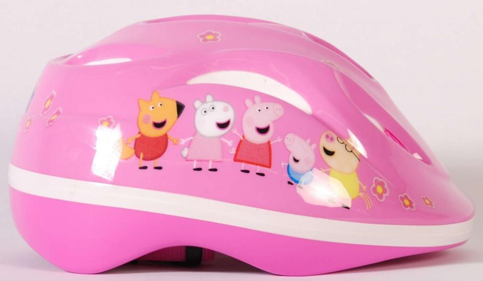 Peppa Pig kinderhelm meisjes 51 55 cm kunststof roze
