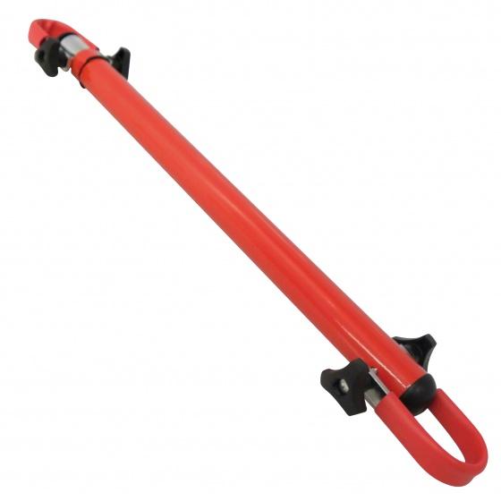 Peruzzo hulpstuk damesfiets voor fietsendrager 45/75 cm rood